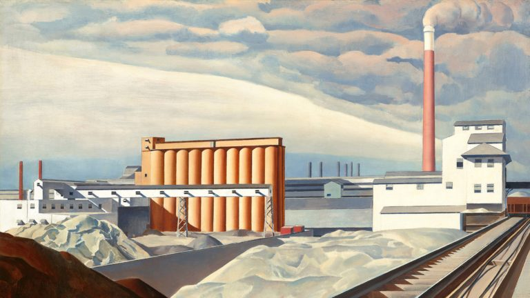 """""""Classic Landscape"""" by Charles Sheeler"""