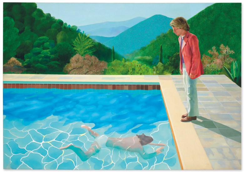 David Hockney's Portrait of an Artist ( Pool with Two Figures)